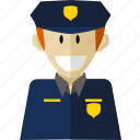 policeman, professional, worker icon