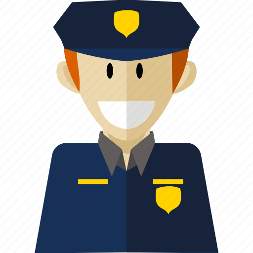 Policeman, professional, worker icon - Download on Iconfinder