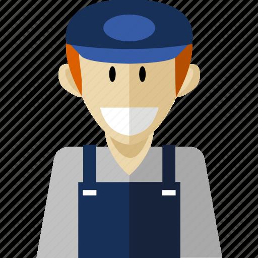deliverer, professional, worker icon
