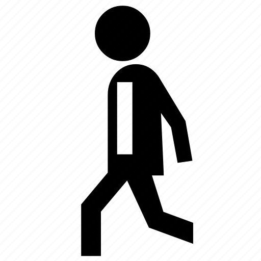 employee, executive, man, office, salary, walk, work icon