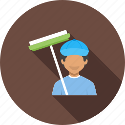 cleaner, cleaners, cleaning, house, office, professional, service icon