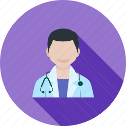 doctor, male, medical, patient, stethoscope, tablet icon