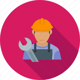 auto, car, maintenance, male, mechanic, repair, service icon