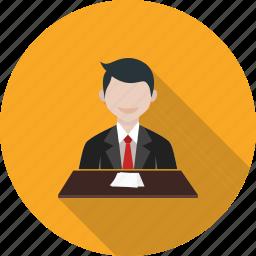 anchor, host, journalist, news, presenter, speaker, tv icon
