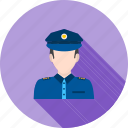 cop, law, male, man, officer, police, uniform icon