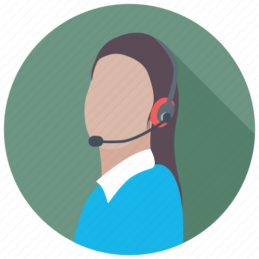 consultant, customer representative, customer service, customer support, help center icon