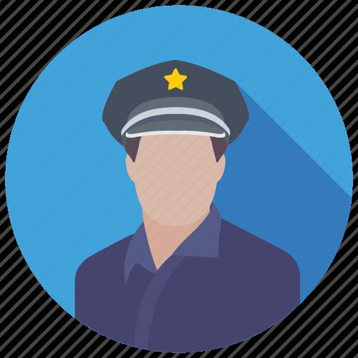 cop, patrolman, police, police officer, policeman icon