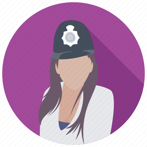 cop, patrolwoman, police, police officer, policewoman icon