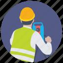 civil engineer, land inspectors, land surveyor, surveying profession, surveyors icon