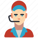 avatar, clerk, food, male, professional, professions, user icon