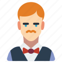 avatar, people, professional, professions, user, waiter