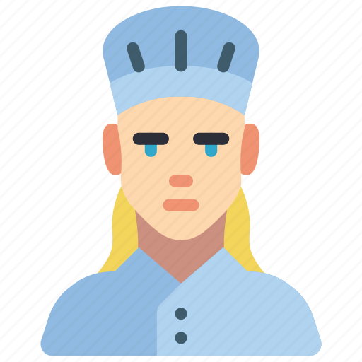 avatar, chef, female, people, professional, professions, user icon