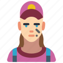 avatar, female, mechanic, people, professional, professions, user icon