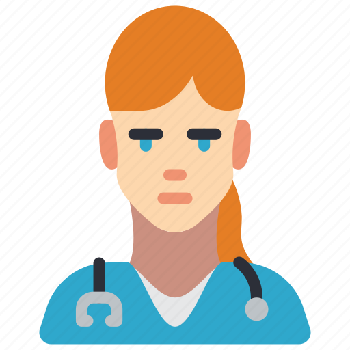 avatar, doctor, female, people, professional, professions, user icon