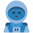 astronaut, avatar, people, professional, professions, space, user icon
