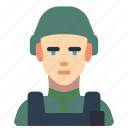 avatar, marine, people, professional, professions, soldier icon