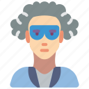avatar, male, people, professional, professions, proffesor, scientist icon