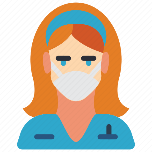 avatar, dentist, doctor, female, nurse, professional, professions icon