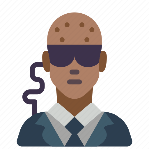 avatar, bouncer, male, people, professional, professions, security icon
