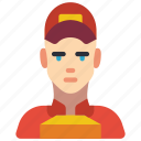 avatar, courier, delivery, man, people, professional, professions icon