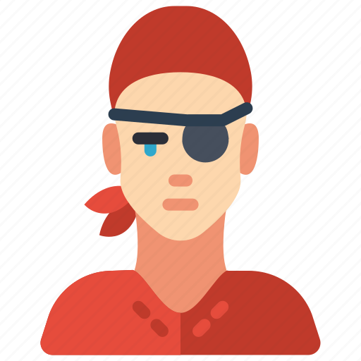 avatar, people, pirate, professional, professions, user icon