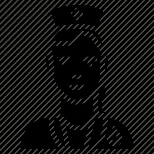 avatar, nurse, people, professional, professions, user icon