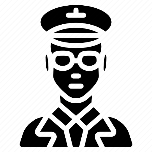 avatar, male, people, pilot, professional, professions, user icon