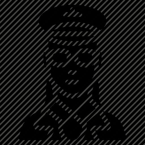 avatar, female, people, pilot, professional, professions, user icon