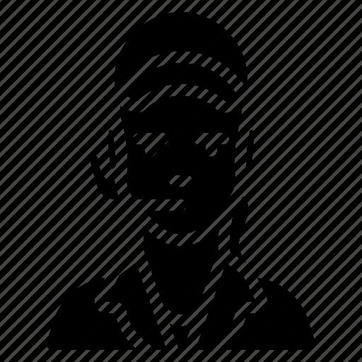 avatar, clerk, female, food, people, professional, professions icon