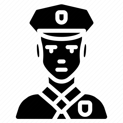 avatar, male, officer, people, police, professional, professions icon