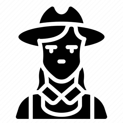 avatar, farmer, female, people, professional, professions, user icon