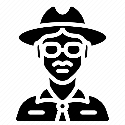 avatar, people, professional, professions, sheriff, user icon