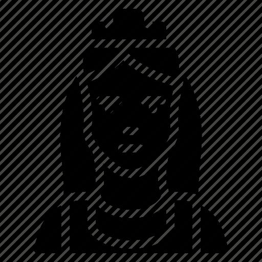 avatar, maid, people, professional, professions, user icon