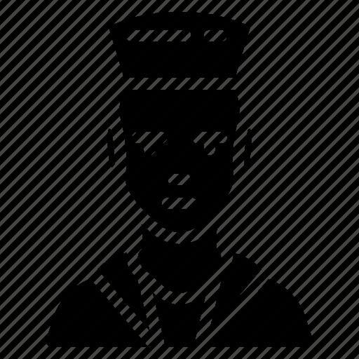 avatar, man, people, professional, professions, sailor, user icon