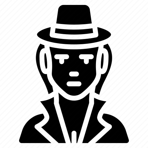 avatar, detective, female, people, professional, professions, user icon