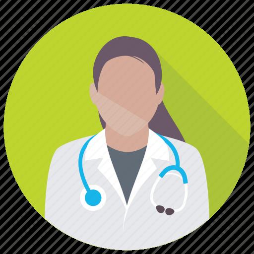 attendant, medic, medical assistant, medical staff, nurse icon