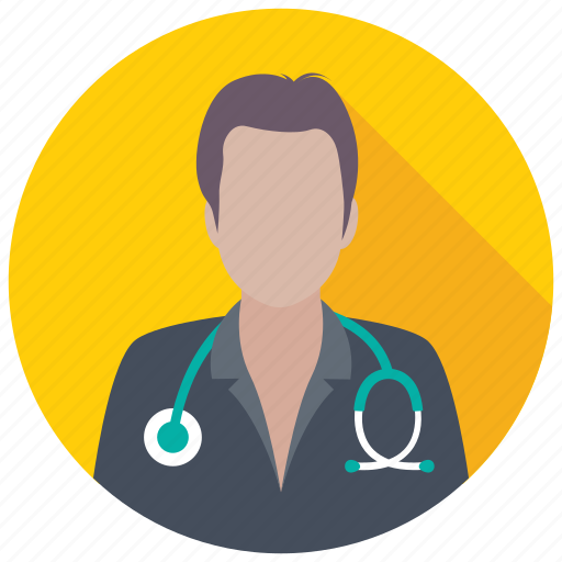 clinic, doctor, male doctor, physician, surgeon icon