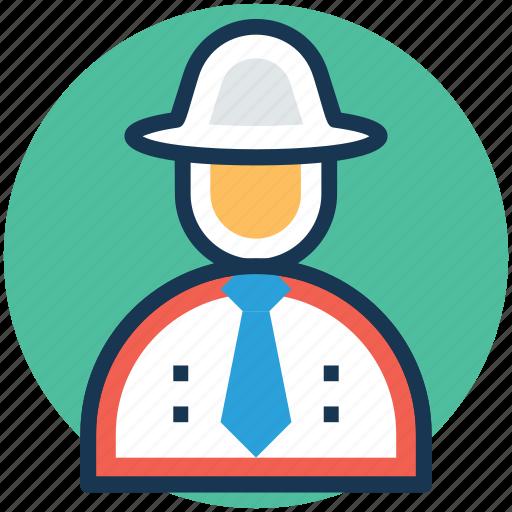 detective, inquiry agent, investigator, sleuth, spy icon