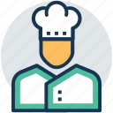 baker, chef, cook, cuisiner, food preparer icon