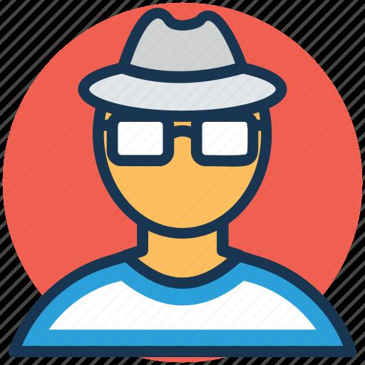 inquiry agent, investigator, sleuth, spy, woman detective icon