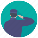 bellboy, bellhop, gatekeeper, hotel staff, security officer icon