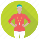 coach, instructor, match referee, sports coach, umpire icon