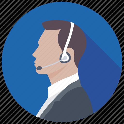 consultant, customer representative, customer service, customer support, male consultant icon