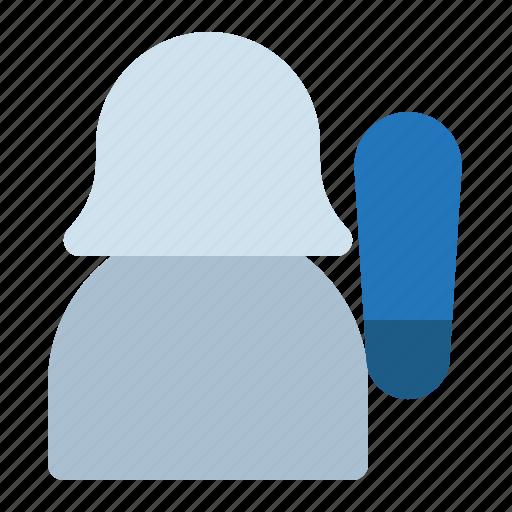 avatar, baseball, player, sport, woman icon