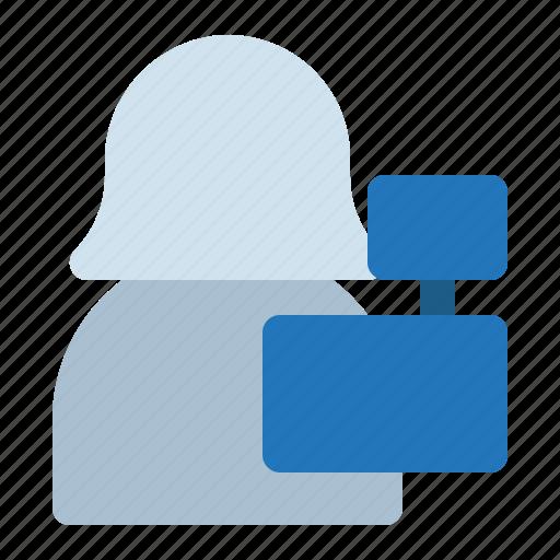 avatar, cashier, shop, store, woman icon