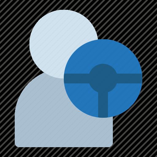 avatar, driver, man, taxi icon