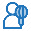 avatar, chef, cook, man