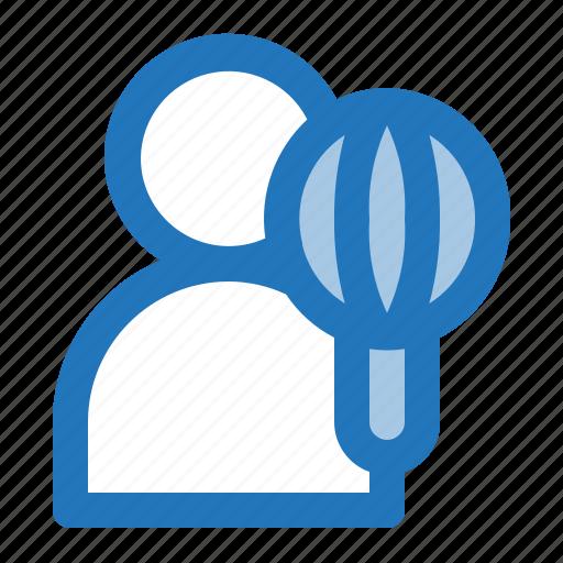 avatar, chef, cook, man icon