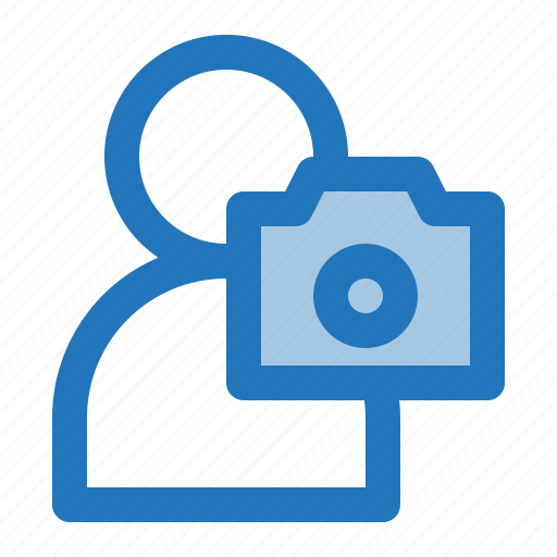 avatar, camera, man, photographer icon