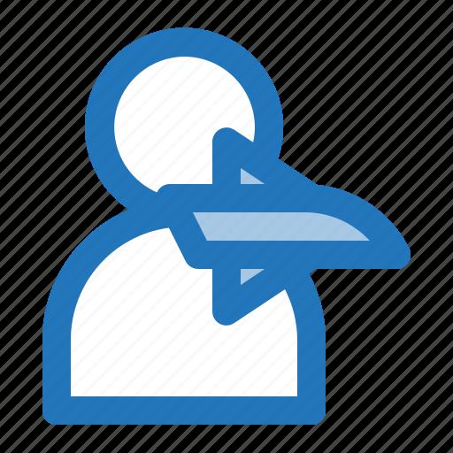 avatar, man, pilot, plane icon